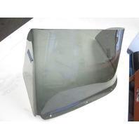 "Skeeter Boat Tinted Port Left Windshield Bubble 32"" Wide w/Small Lip"
