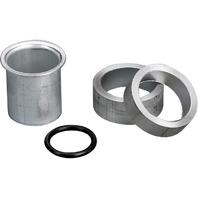 020848-001 Moeller Boat Aluminum Drain Fitting Kit 1 inch