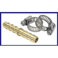 033212-10 Moeller Marine BRS Hose Mender with Stainless Clamps 5/16 inch