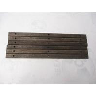 Boat Teak Wood Deck Wall Insert Trim 16 x 7/8 inch  1989 Four Winns SunDowner 225