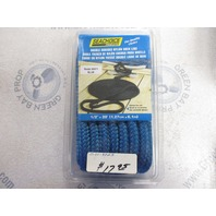 Seachoice Marine BRAIDED  NYLON DOCK LINE-1/2  x 20' Blue 40411