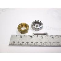 802126Q1 398042 Quicksilver Propeller Nut Kit for Johnson/Evinrude OMC Cobra/Volvo