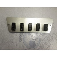 1989 Bayliner Capri Dash Panel Switches