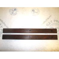 "Four Winns 190 Horizon Boat Grab Hand Rails Teak Wood 20"" x  1 3/4"""