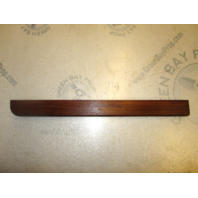 "Rear Boat Seat Rail Teak Wood 16 1/2"" x 1 1/2"" 1985 Four Winns Horizon 190"