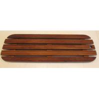 "Boat Floor Deck Ski Hatch Cover Teak Aluminum Frame 37 1/2"" x 13 3/8"""""