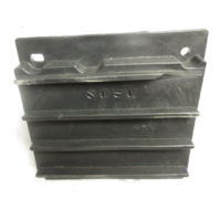 """Black Poly Boat Seat Mount 7"""" X 7"""", 3/4"""" Pin with Spring, has defect"""