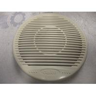 """Clarion 7""""  Pair of Off White/Cream Plastic Speaker Covers Grill"""