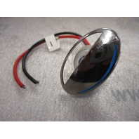 69307SS-BL Stainless Steel LED White Courtesy Light with Blue Window Boat Marine