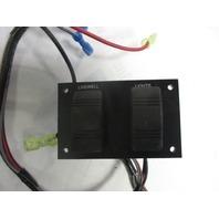 "Marine Boat Dash Switch Panel  4"" x 2 1/2"" Live-Well Lights"