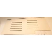 """Voyager Pontoon Boat White Poly Swim Platform 23 3/8"""" X 50"""""""