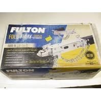 "SBC504 Fulton Fold Away Folding Hitch Coupler 5000 lb. Class III 2"" Ball"