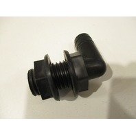 "TH-90 T-H Marine Boat Thru Hull 90 Degree Black 3/4"" Fitting"