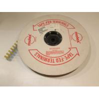 Molex 0191540030 InsulKrimp Yellow Butt Connector 10-12AWG QTY. 500 Tape Reel