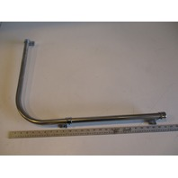 "Renken Marine Boat Stainless Steel 90 Degree Curve Grab Rail 25"" x 19"""