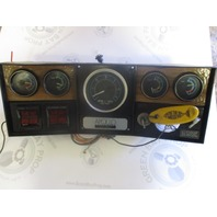 "Apollo Marine Boat Dashboard Gauge Cluster and Switches 16"" x 6"""