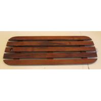 "Boat Floor Decking Hatch Teak Wood 35 3/8"" x 11 3/4"""