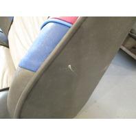 1989 Bayliner Capri Back to Back Boat Seats Light Grey Blue Fuschia