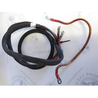 Battery Cable 7' Mercury Force Outboard Battery Cable with Starter Wire