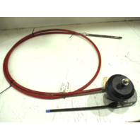 Morse Red Jacket 14'  Marine Boat Rotary Steering Cable & Helm
