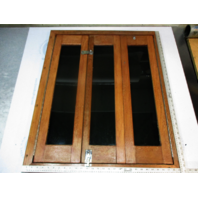 "1988 Wellcraft 192 Classic Teak Cuddy Cabin Doors and Frame 35 3/4"" x 29 7/8"""
