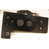 1978 Sea Ray 20' Boat Dash Panel, Gauges, And Main Wire Harness