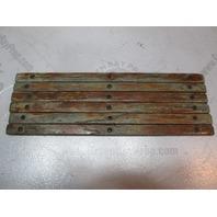 "Boat Teak Wood Deck Wall Inserts Trim 13"" x 5/8 inch  1980 Cruiser Beachcomber"
