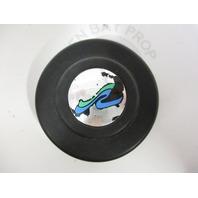 "Sea Ray 180 Bowrider Boat Steering Wheel Insert Black Plastic 2 1/4"""