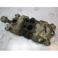 3931575 OMC V8 Chevy Stringer Stern Drive 4 Barrel Intake Manifold 3919803