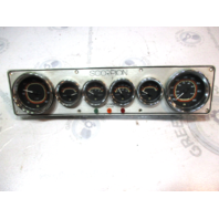 "Chris Craft Scorpion 168 Aluminum Dash Board Gauge Cluster 17 3/4"" x 4 1/4"""