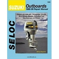1600 SELOC SERVICE MANUAL for Suzuki Outboards 1988-1999 2-225 Hp 2-stroke