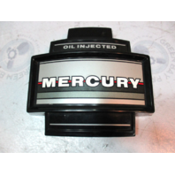Mercury Mariner 2 Cylinder Outboard Oil Injected Black Silver Front Cowl Cover