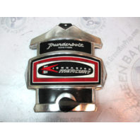 Mercury Kiekhaefer Thunderbolt Ignition Silver/Black/Red Front Cowl Cover