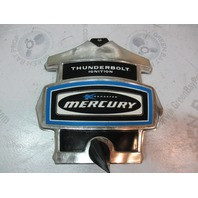 Mercury Kiekhaefer Outboard Thunderbolt Blue Black Chrome Front Cowling Cover
