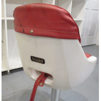 "Todd Marine Plastic Swivel Captains Pilot Chair Boat Seat & 15.5"" Pedestal"