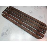 "Sea Sprite Marine Teak Wood Boat Floor Decking Ski Hatch Cover 35 5/8"" x 11 5/8"""