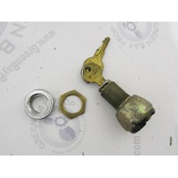 Ilco Brass Marine Hatch Glove Box Lock & Key NF112 NF 112