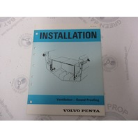 5196 Volvo Penta Installation Manual Aquamatic Ventilation Sound Proofing