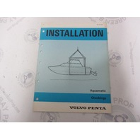 5198 Volvo Penta Installation Manual Aquamatic Checkings