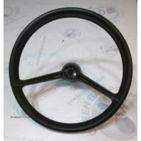 "1972 OMC Evinrude Johnson Marine Boat 14 3/4"" Steering Wheel 19 Spline 2 Spoke"