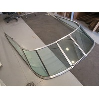 1990 Chaparral 1900SL 19'  Boat Windshield Window Glass Curved Walk Through