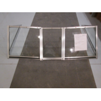 "1985 Yar-Craft Boat Windshield Window Walk Through 60 1/2"" Wide"