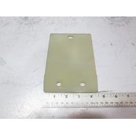 807956T Fuel Filter Insulator Backing Plate for Mercruiser Sterndrive