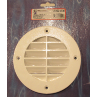 "LV-1FW-DP T-H Marine 5 5/8"" Fish White  Louvered Vent"