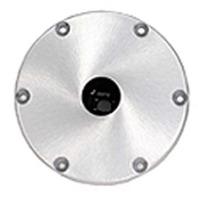 """SNAP-LOCK  1.77"""" ALUMINUM BASE PLATE-Aluminum Base 9"""" Round; ABYC Code - AO"""