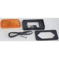 SEALED CLEARANCE/SIDE MARKER LIGHT-Amber Trailer Light Kit Bracket E150BKA