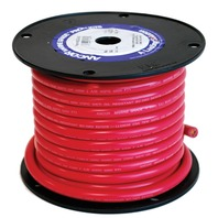 113505 MARINE BATTERY CABLE WIRE-4 Ga. Red  50'