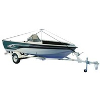 DELUXE BOAT COVER SUPPORT SYSTEM-For Boats up to 19'