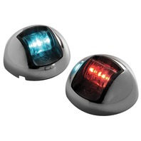 ATTWOOD 3500 SERIES LED SIDELIGHTS-2-NM LED Red/Green, Pair (For Boats up to 65.6ft.L)
