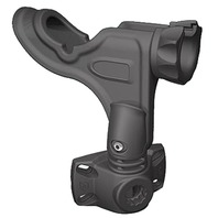 PRO SERIES ROD HOLDER WITH BI-AXIS MOUNT- Black